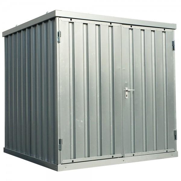 2m Schnellbaucontainer