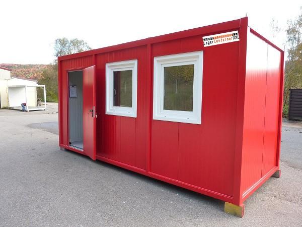 5m Isolierter Bürocontainer mit Elektroausstattung