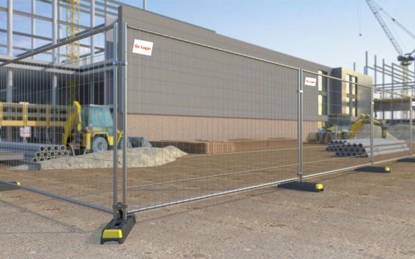 Bauzaun bei LagercontainerXXL online günstig kaufen