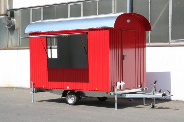 Verkaufswagen | Marktstand Isoliert 25 - 80 km/h mit Elektroausstattung -500cm/220cm/230cm-