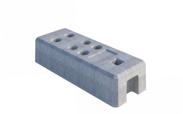 Bauzaunfüsse aus Beton bei LagercontainerXXL