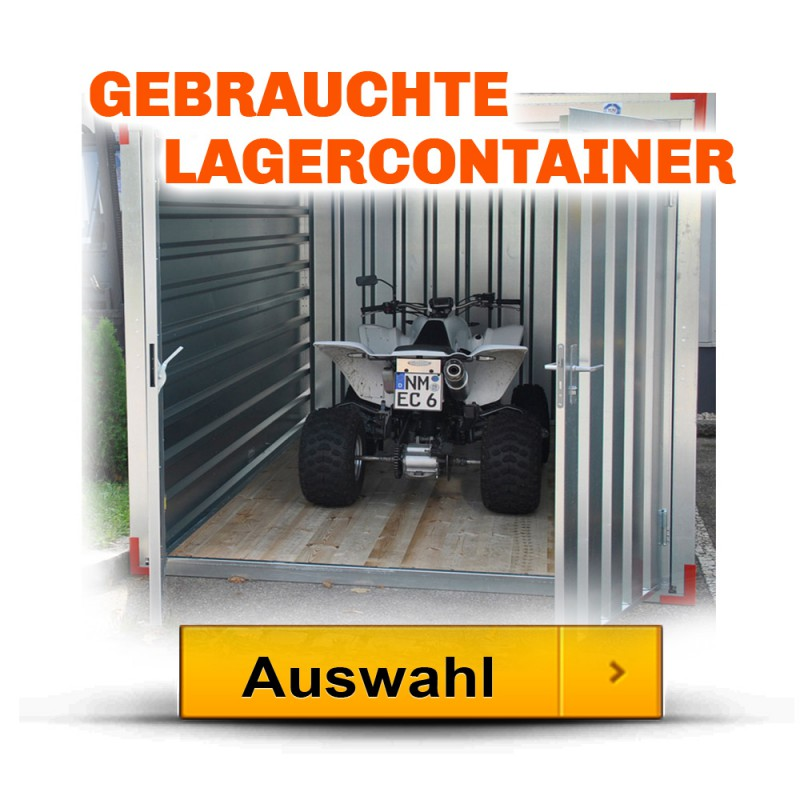 standard lagercontainer bis 20 fuss bei lagercontainerxxl. Black Bedroom Furniture Sets. Home Design Ideas