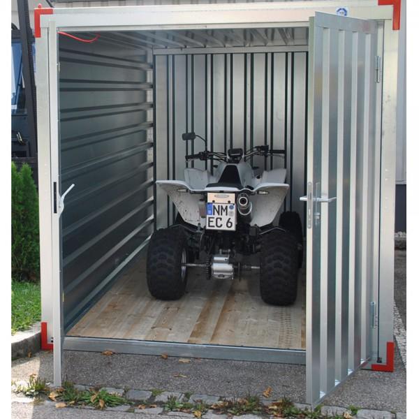 5m Lagercontainer - Materialcontainer mit Doppelflügeltür