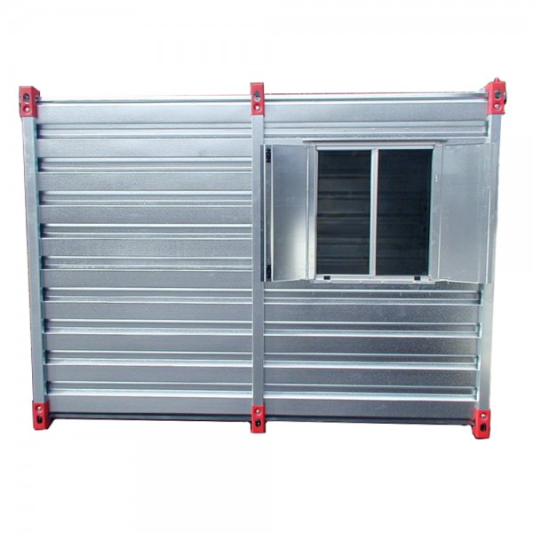 Lagercontainer Fenster gross 850 x 750 mm