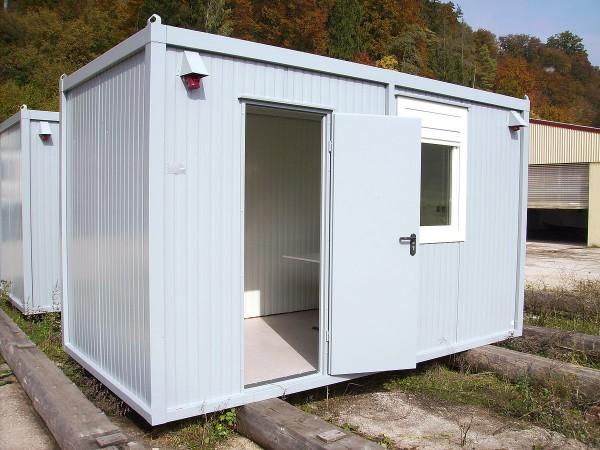 4m Isolierter Bürocontainer mit Elektroausstattung