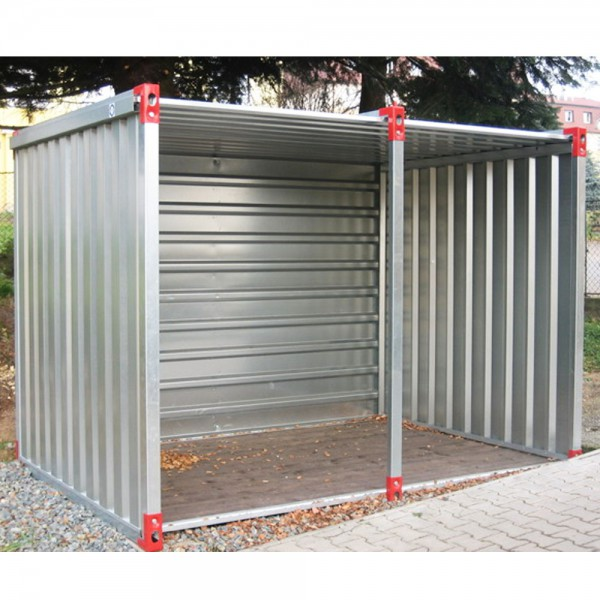 Container als Fahrradgarage oder Mülltonnenunterstand 4 - 6 Meter