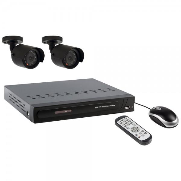 Überwachungssystem für Innen & Außen inkl. Aufnahmefunktion