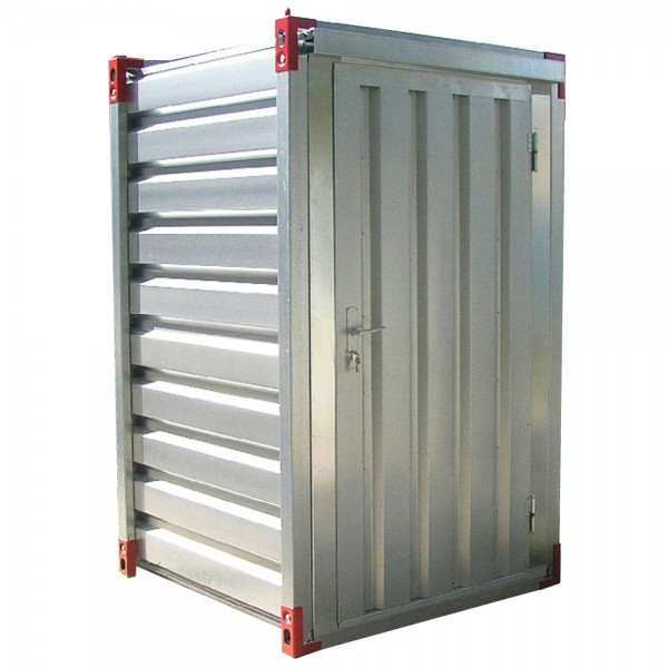 1,20 x 1,375m Lagercontainer - Sicherheitscontainer mit Einflügeltür