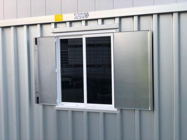 Fenster für Schnellbaucontainer