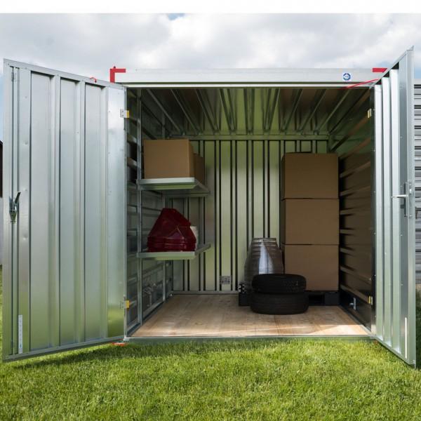 B-Ware - Gebrauchter 5m Baucontainer - Materialcontainer