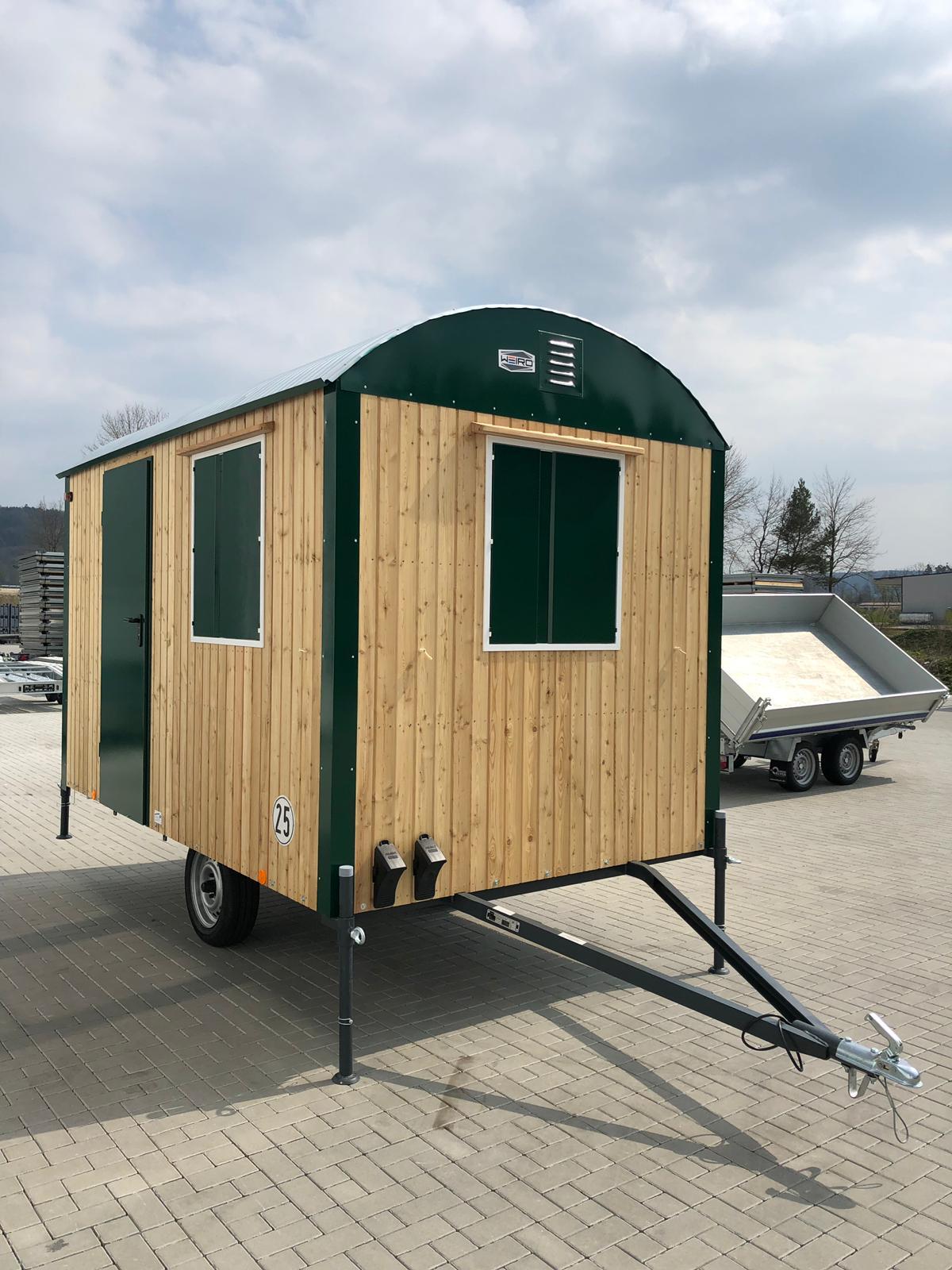 Freizeitwagen Aus Holz 25km H Mit Kompletter Einrichtung 350cm 210cm 230cm