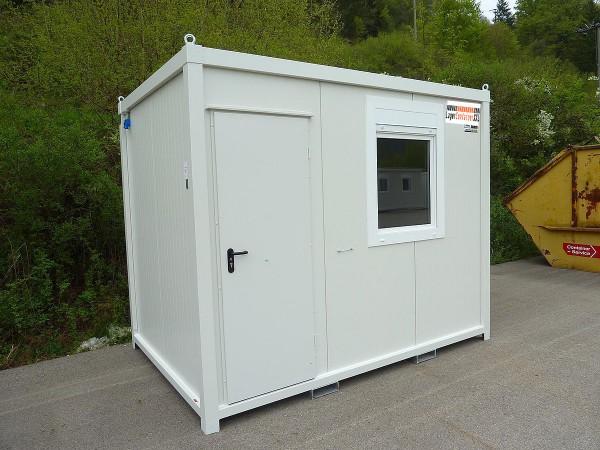 3m Isolierter Bürocontainer mit Elektroausstattung