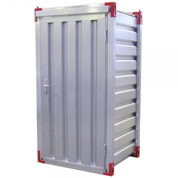 1,26 x 1,38m Lagercontainer - Sicherheitscontainer mit Einflügeltür