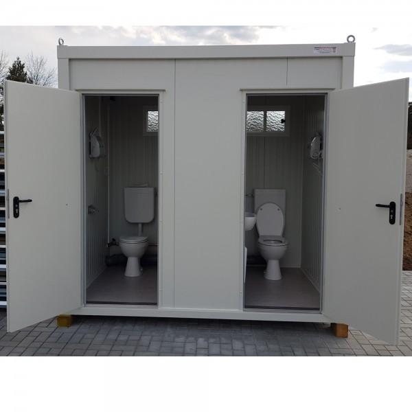 Sanitärcontainer - WC Container für Damen und Herren