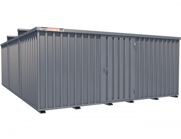 Mobile Lagerhalle ohne Genehmigung
